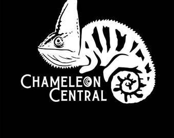 Chameleon Central USA Veiled Logo T-shirt