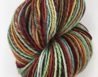 """Handspun Yarn Sportweight """"Tapestry"""" 340 yds."""