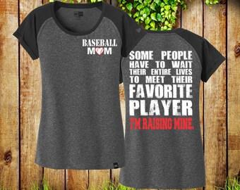 Baseball Mom Shirt Baseball Shirt Baseball Mom TShirt Baseball Mom Tee Baseball Mom Shirts Sports Mom Baseball Tee Ladies Scoop Neck LNEA107