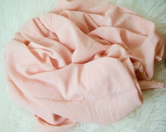 Rose Organic Muslin Swaddle, Lightweight Swaddle, Rose Color Swaddle Blanket, Baby Shower Gift, Baby Girl Swaddle, Pink Swaddle Baby Girl