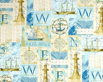 Windham - Tall Ships - Collage - Multi