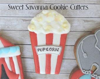 Popcorn Box Cookie Cutter