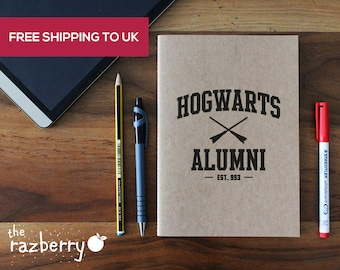 Harry Potter Notebook A5 Kraft Tom Riddle Diary Hogwarts Alumni Notebook A5 Notepad Hogwarts Dumbledore Notepad School University College