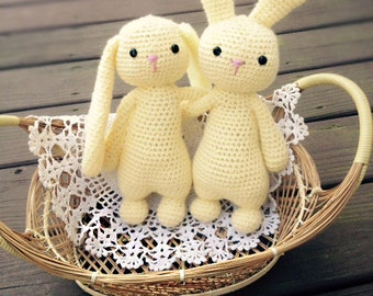 Crochet Bunny Pattern - The Gumdrop Collection