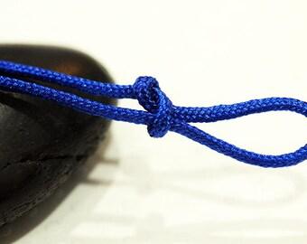 10 m cord nylon blue diameter 1.5 mm