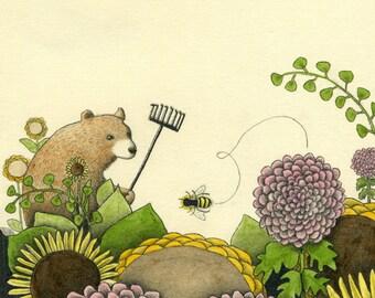 Ernst The Gardener Digital Giclee Print