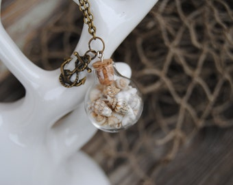 Beach Inspired Jewelry - Seashell Necklace - Wedding - Beach Jewlery - Christmas Gift