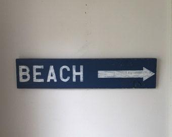 Beach Sign - Beach House Decor