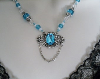 Victorian Necklace, victorian jewelry art nouveau jewelry renaissance jewelry medieval edwardian art deco neo victorian tudor necklace