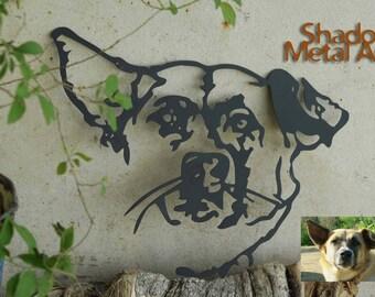 custom dog memorial portrait | loss of pet gift | loss of dog gift dog memorial gift | loss of a pet memorial gifts | pet loss memorial gift
