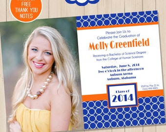 Graduation Party Invitation | Graduation Invitation | High School Graduation | College Graduation | Amanda's Parties To Go