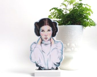 Princess Leia Wooden Standee