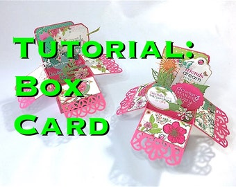 Tutorial #26: Box Card - 'Out of the Box'