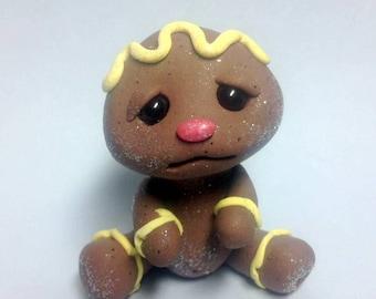 BAKE SALE Lemon Creme Frosting Baby Girl Gingerbread Trollfling by Amber Matthies