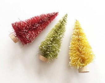 "3"" Bottle Brush Trees from Fancy Pants - 3 Quantity (Item #2731)"