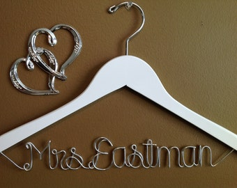 Bride Hanger,Personalized Bridal Hanger one Line,wedding Bridal Hanger,Brides Hanger,Bridal Hanger, Wedding Hanger, Personalized Bridal Gift