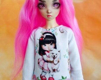 BJD slim MSD Minifee cozy sweater