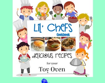 Diy 230 easy bake oven recipes instant digital delivery pdf easy bake oven cookbook lil chefs real food recipes kids will love forumfinder Images