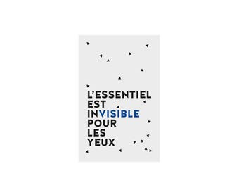 Graphic notebook with french words - Essentiel
