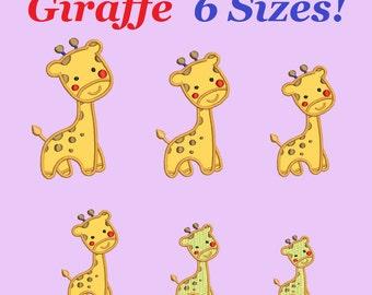 giraffe embroidery designs aplique little giraffe design embroidery machine