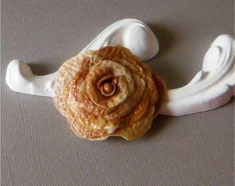 Marbled flower cold porcelain