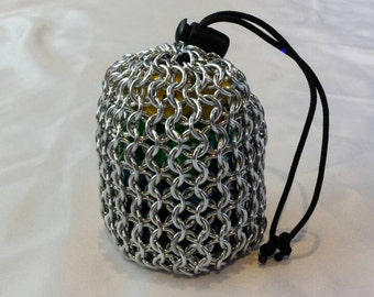 Chainmail Dice Bag - Small