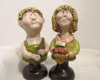 1969 Huguette Welcome Springtime Figurines