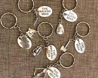 The Walking Dead Keychains