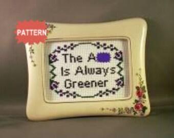 PDF/JPEG The A-s Is Always Greener (Pattern)