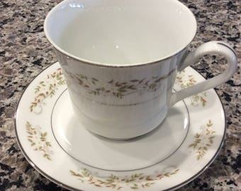 China Cup and saucer, International Silver Co. from the 60's, Pattern is 326 Springtime, Replacements China