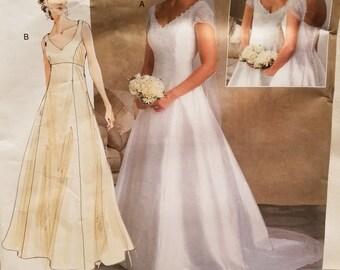 Vogue V2788 Bridal Original Size 6-10 2002 - new, uncut