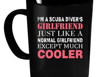 Scuba diver Coffee Mug 11 oz. Perfect Gift for Your Dad, Mom, Boyfriend, Girlfriend, or Friend - Proudly Made in the USA! Scuba diver gift