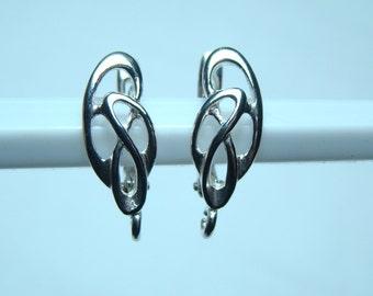 Leverback Earrings Sterling Silver ,material sterling silver, Leverback Earrings Sterling Silver 925, Leverback Earrings, n:B24