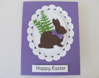 Easter Card, Happy Easter Bunny Card, Spring Cards, Bunny Cards, Rabbit Cards, Happy Easter Cards, Easter Cards, Spring Celebration Card