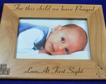 Gift For New Parents ~ Baby Frame ~ Custom Frames ~ New Baby Gift ~ Baby Shower Gift ~ Picture Frames For Baby ~ Picture Frames ~ Baby Gifts