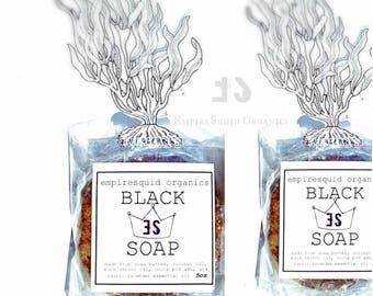 African Black Soap | Black Soap Bar | Black Soap for Acne | Black Soap Cleanser | Ghana Soap | African Soap | Acne Soap | Natural Soap