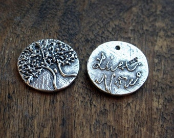 Tree of Life Charm Sterling Tree /CH2323