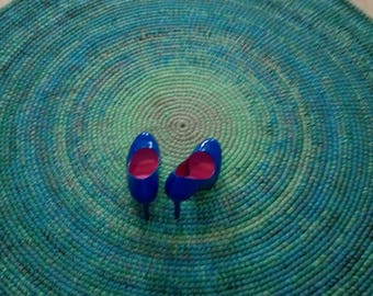 Round rug, 52'' (132 cm)/Rugs/Rug/Area Rugs/Floor Rugs/Large Rugs/Handmade Rug/Carpet/Wool Rug