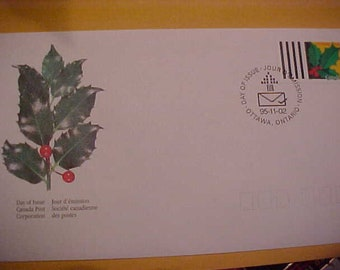 first day cover canada post  95-11-02 MINT