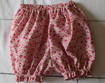 T 1 month cotton bloomers