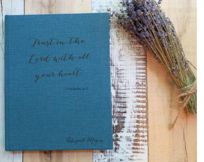 Custom Bible Verse Journal or Sketchbook