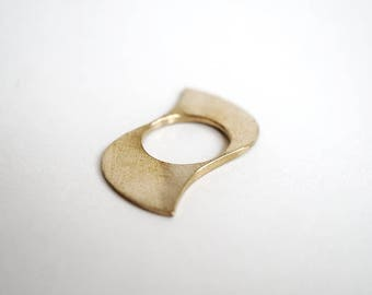 NINJA ring -sterling silver or bronze-