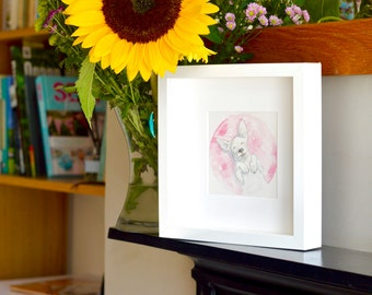 Playful Pet Portraits - original watercolour paintings!   Pet lover gift   Custom Portrait for Home   Animal Art   Original Artwork