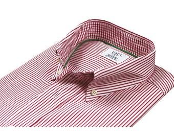 Organic cotton casual shirt - Venice Stripes