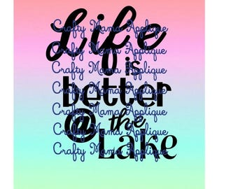 Life is better at the Lake design
