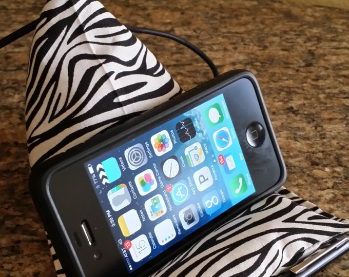 Gadget Bags-Safari Collection (Zebra) (Phone not Included)