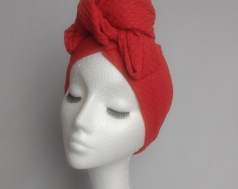 Turbands - 1940s 1950s style knotted turban headband. Lots of colours!!