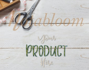 Tailor Made Wood Tabletop Mock-Up / Stock Photo / Art Stock Image / Clothing / Product Mock-Up / PNG / Digital Download