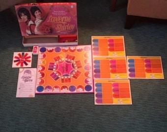 Vintage 1977 Laverne and Shirley Board Game Parker Brothers 100% complete!