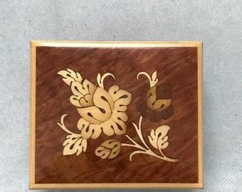 Reuge Swiss Inlaid Wood Music Box